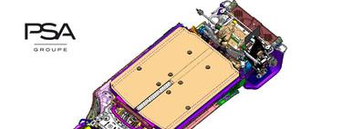 Así es la nueva plataforma modular para coches eléctricos del Grupo PSA, que promete hasta 650 km de autonomía