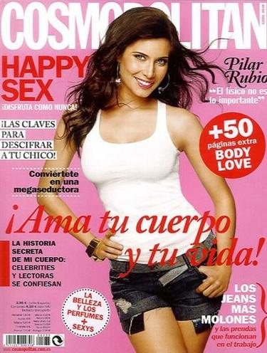 Pilar Rubio se vuelve recatada en la portada de Cosmopolitan