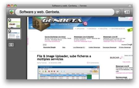 Fennec Alpha 2, hacia Firefox Mobile