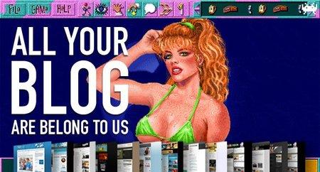 Sobre el ligón de Larry, chiptunes y RPGs anda el juego. All Your Blog Are Belong To Us (CXXVI)