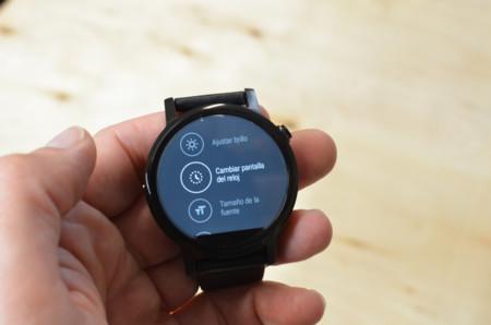 Moto360 2015 Review Configuracion