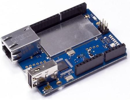 Vista del Arduino YÚN