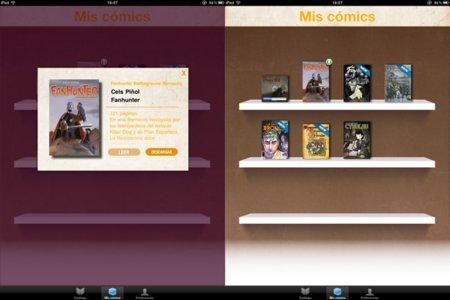 Koomic cómic digitales iPad