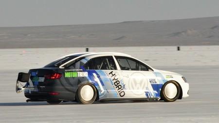 Volkswagen Jetta Hybrid, el coche más rápido del mundo (*)