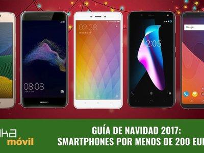 Guía de compras de Navidad: los mejores smartphones por menos de 200 euros