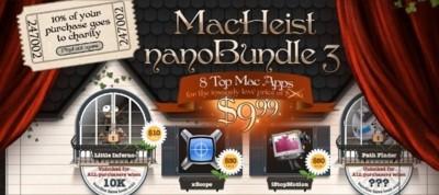 MacHeist Bundle, ocho aplicaciones por sólo 10 dólares