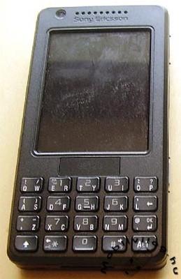 Sony Ericsson M610i, primera imagen real