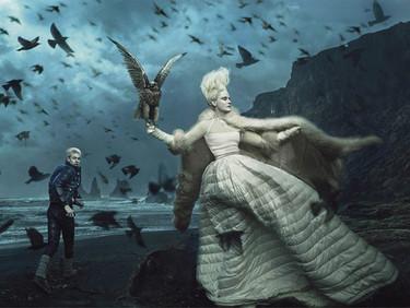 La reina de las nieves, la última campaña de Moncler firmada por Annie Leibovitz