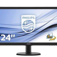 Oferta Flash: monitor Philips de 24 pulgadas, con resolución FullHD, por 109,90 euros y envío gratis