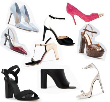 Zapatos con tacón rebajas 2014