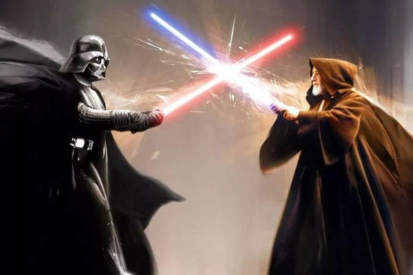 La Pelea Entre Obi Wan Y Darth Vader En Star Wars Episodio Iv Luce Más Espectacular Que Nunca Cuando Se Añaden Efectos Digitales