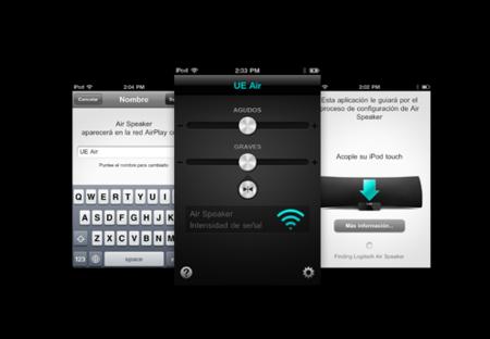 Aplicación para el control de Logitech Air Speaker desde iOS
