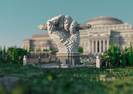 Estos periodistas han encontrado un nuevo modo de saltarse la censura: una gigantesca biblioteca en Minecraft