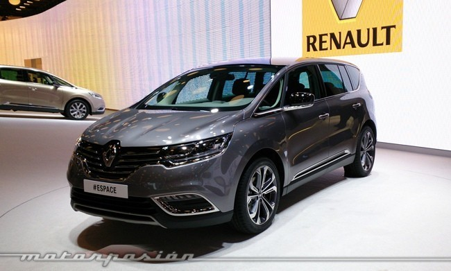 renault espace 2015 primeras impresiones. Black Bedroom Furniture Sets. Home Design Ideas
