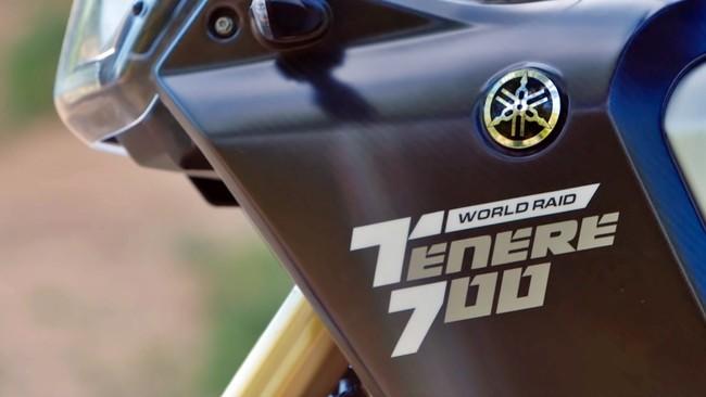 Así lleva Cristóbal Guerrero a la Yamaha Ténéré 700 World Raid hacia su presentación el 5 de noviembre