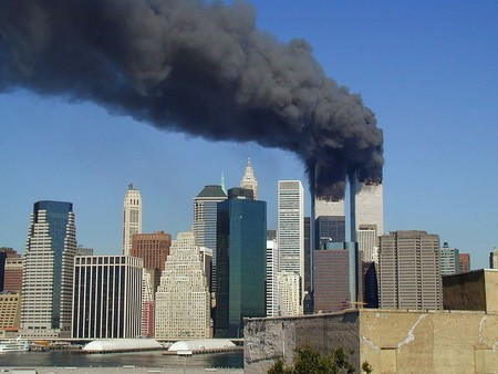 Wtc Smoking On 9 11 Jpeg