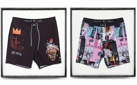 Obras De Andy Warhol Y Jean Michel Basquiat Se Van A La Playa En La Nueva Coleccion De Billabong Lab