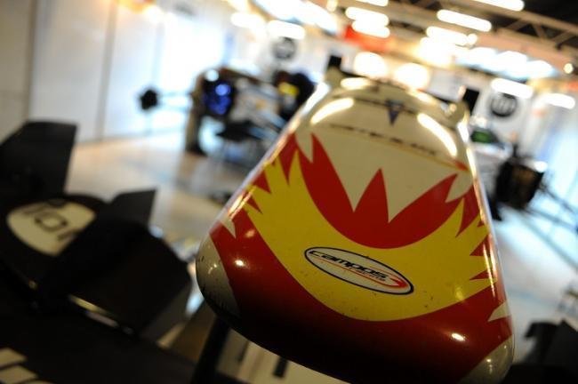 Felipe Nasr Carlin 2012 Jerez Tests