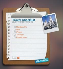 Travel To-Do List: Widget para no olvidar llevarte nada de viaje