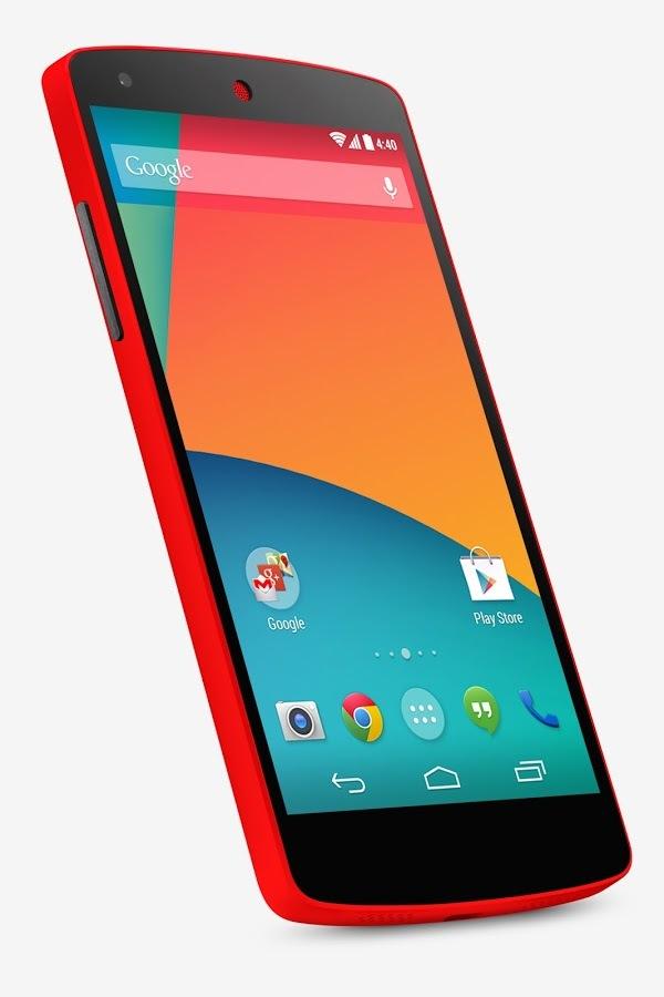 Foto de Nexus 5 - Rojo brillante (1/9)
