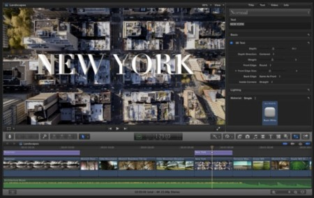 Final Cut Pro X 10.2, Motion 5.2 y Compressor 4.2. Apple actualiza a lo grande su suite de vídeo