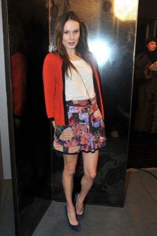 Ana Girardot Chanel Alta Costura Primavera-Verano 2011