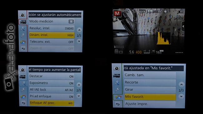 Panasonic Lumix GF5 Pantalla LCD