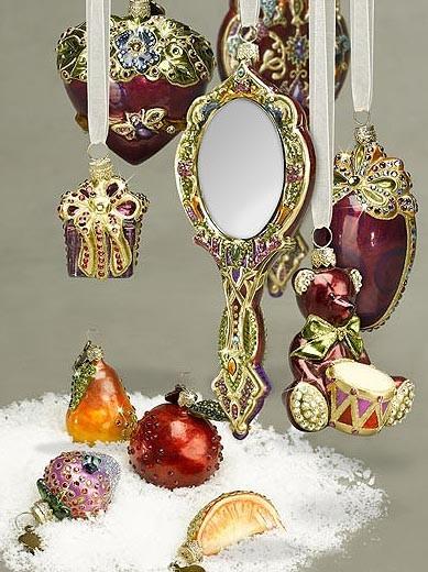 Detalles de lujo para el árbol
