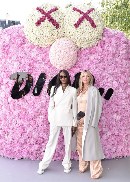 775180795eg00082 Dior Photocall Naomi Campbell And Kate Moss By Getty Images For Dior