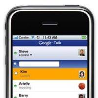 Google Talk en el iPhone