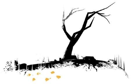 'The Unfinished Swan', el mundo como un lienzo en blanco, el mundo como la noche más oscura