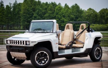 El Hummer HX-T Limo es eléctrico y limusina, pero no para despedidas de soltero