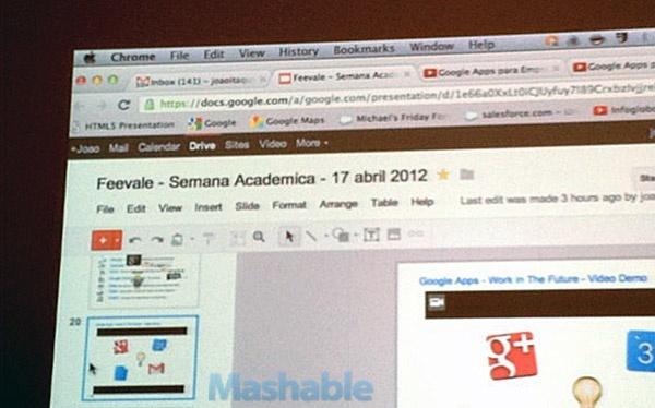 google drive presentación