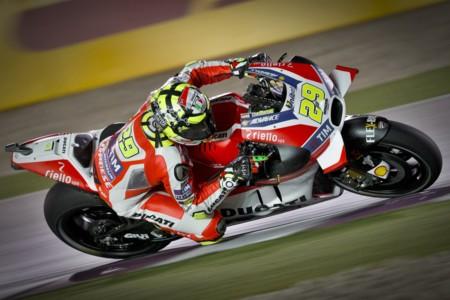 Andrea Iannone encabeza la última sesión de libres en Losail y Honda endereza las cosas