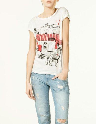 Camiseta Zara ciudades