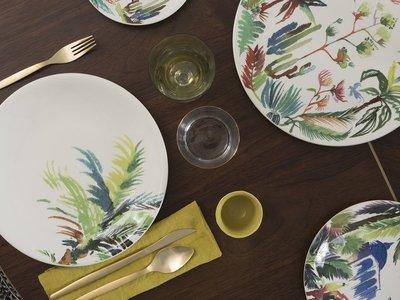 Jardines extraordinarios, la nueva colección de Gien para nuestra mesa