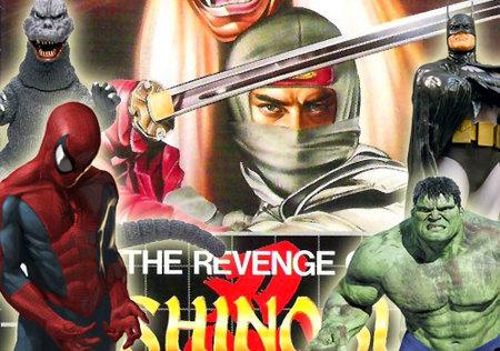 'Revenge of Shinobi' y la que lió con Spider-Man, Batman, Hulk y Godzilla