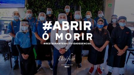 #AbrirOMorir: restaurantes piden al gobierno de México ser considerados actividad esencial