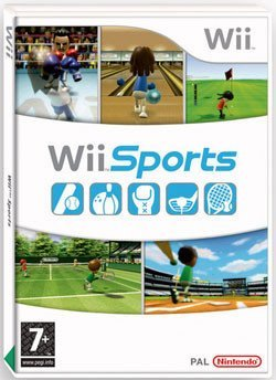 La carátula del Wii Sports