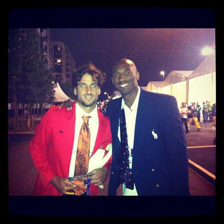 Kobe Bryant y feliciano