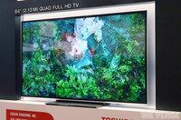 Toshiba también se apunta a la moda de la resolución 4K en 84 pulgadas