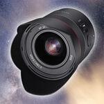 Samyang 24 mm F1.8 FE, nuevo óptica angular para Sony E full frame de diseño compacto y creado especialmente para astrofotografía