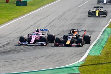 Stroll Verstappen Monza F1 2020