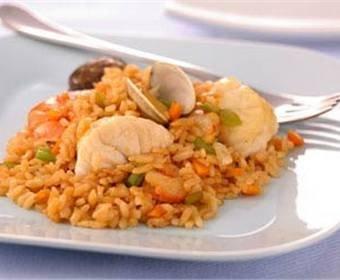 Recetas de paella de marisco y arroz negro