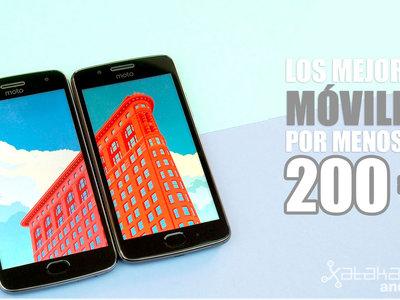 Los mejores móviles Android de julio por menos de 200 euros