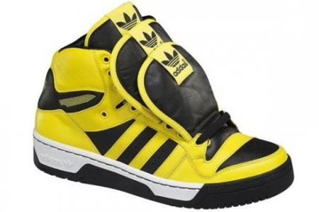 Las lengüetas gigantes de Jeremy Scott para Adidas