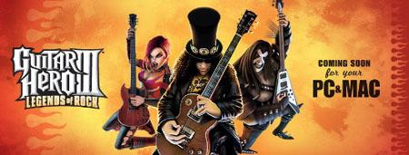 Guitar Hero III Legends of Rock para Mac a la venta el 10 de Diciembre
