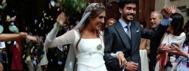 19 vestidos de novia perfectos para triunfar en una boda de día de invierno