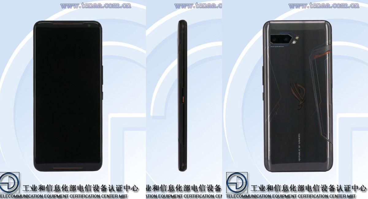 El ASUS ROG Phone 2 deja al descubierto su monstruosa batería y resto de especificaciones en TENAA