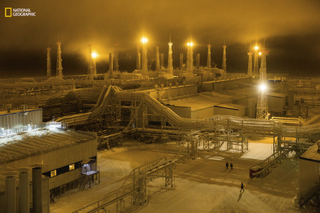 Arctic Night Gas Field